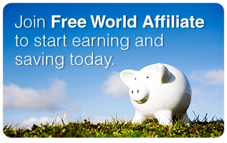 Join Free World Affiliate to Start Earning and Saving Today